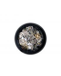 Кутия SECRETLY с декорации - часовник части микс Сет Nail Art