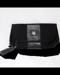 Кожена И Платнена Чанта Sane Leather And Fabric Gwp Bag
