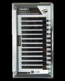 Мигли SECRETLY Premium line 0.05 D 10 мм