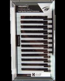 Мигли SECRETLY Premium line 0.07 D 12 мм