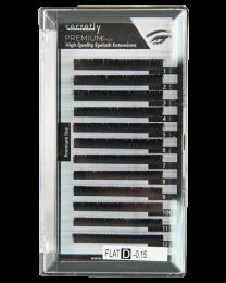 Мигли SECRETLY Premium line 0.15 C 8-14мм  MIX Premium