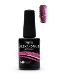 Гел лак ALEXANDRA`S Deluxe Collection Bordeaux #248