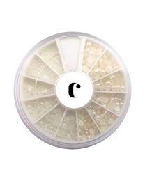 Перли CLARISSA за декорации Nail Art Pearl Сет 570 бр.