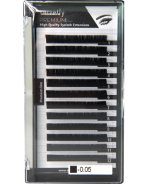 Мигли SECRETLY Premium line 0.05 D 9mm