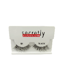Мигли Цели SECRETLY Style 91 Black Sensual Premium Lashes