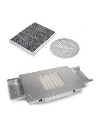 Прахоуловител EC вграждане вентилатор 4 метален 48 W