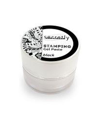 Гел паста за печати SECRETLY Stamping Gel Paste черна 5 гр.